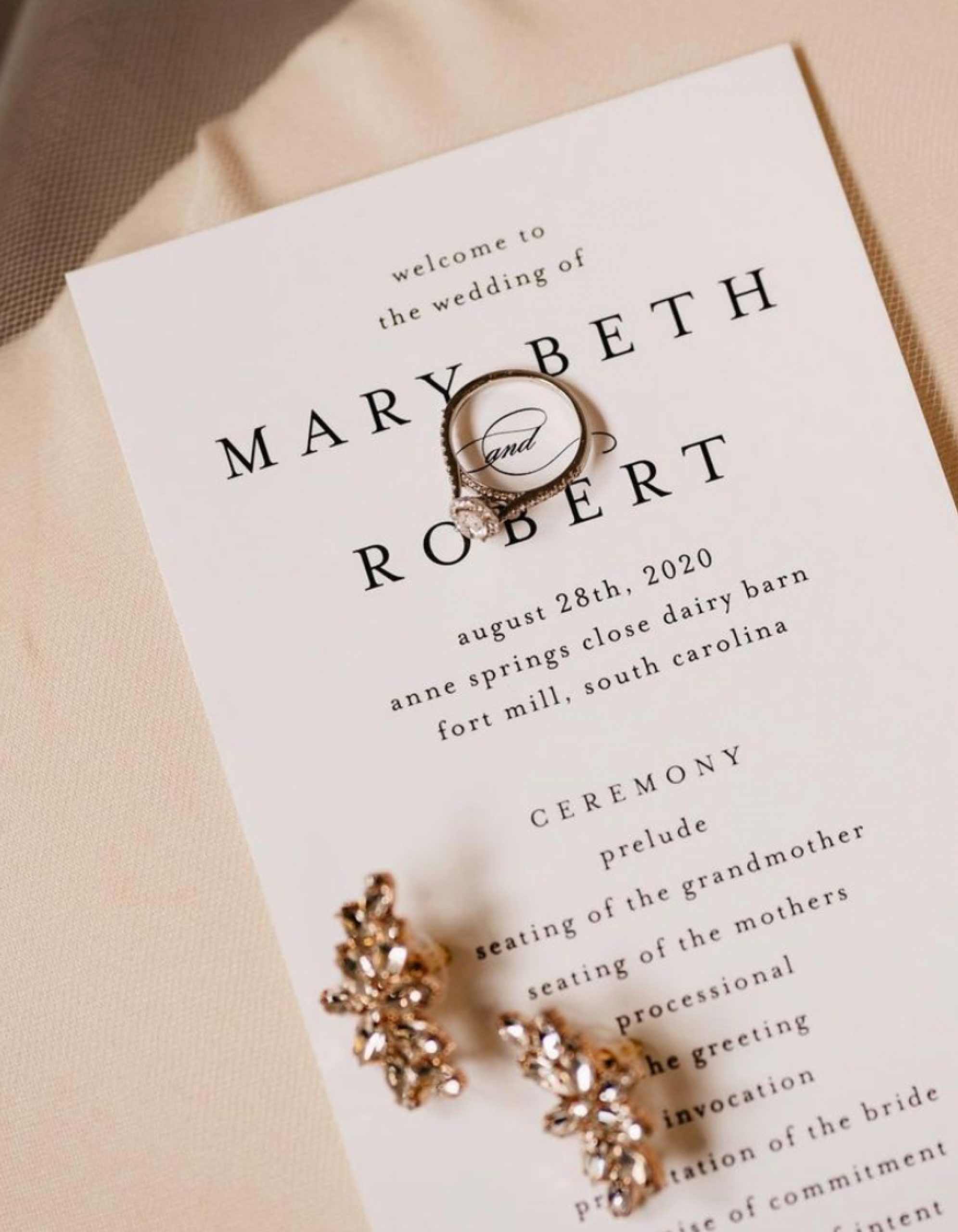 Tied & Two | Modern Wedding Invitations in Augusta and Charlotte